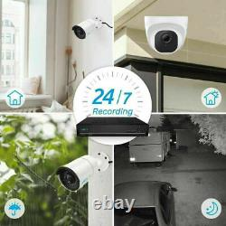 Reolink 5MP 8CH PoE Security Camera System Audio Recording Outdoor RLK8-510B2D2