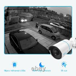 Reolink 8CH Security Cameras System Audio Recording Smart Detection RLK8-510B4-A