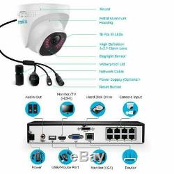 Reolink RLK8-800D4 4K Security Camera System 8MP 8CH POE 7/24 Recording 2TB HDD