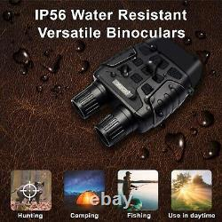Rexing B1 Infrared Night Vision Binoculars with LCD Screen, Video Recording