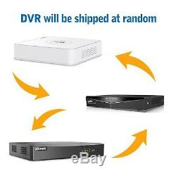 SANNCE 4CH 1080P DVR Video Record 3000TVL Outdoor HD Home Security Camera System