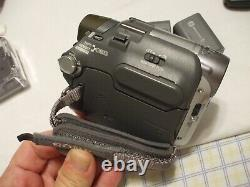 SONY Handycam DCR-HC32 Digital Video Camera Recorder Bundle Remote Charger Bag