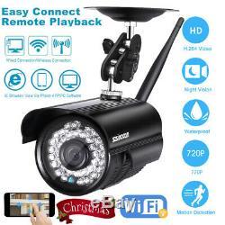 Security Wireless WIFI IP Camera Home CCTV 720P Video Recorder Night Vision IP66