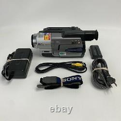 Sony CCD-TRV68 HI8 8mm Video8 HI 8 Camcorder VCR Record Player Play Transfer