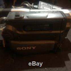 Sony Ccd Trv 108 8 Mm Camcorder Recorder Player Night Vision