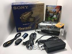Sony Handycam Vision Video Camera Recorder Camcorder Hi8 Analog CCD-TRV308 New