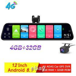 Special Car DVR Camera Android Mirror Wifi bluetooth GPS Dash Cam video recorder