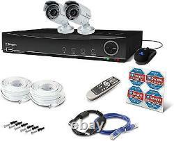 Swann 4 Channel 960H Digital Video Recorder 2 x PRO-842 Cameras CCTV KIT