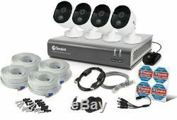 Swann DVR4-4550 4 Channel Recorder HD 1080p DVR 2MP PRO-1080MSB Cameras CCTV Kit