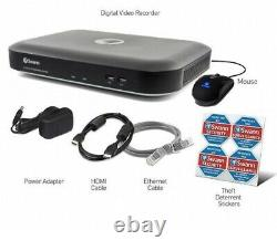 Swann DVR8 5580 8 Channel 4K Ultra HD DVR AHD 2TB HDD CCTV Recorder HDMI BNC