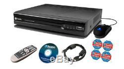 Swann PoE HD NVR4-7082 4 Channel 720p CCTV Digital Video Recorder NVR 1TB HD