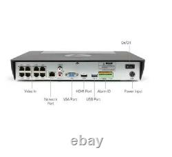 Swann True Detect Thermal Sensing 4K HD 8 8580 Channel 2TB NVR CCTV Recorder