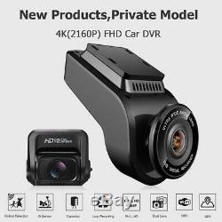 T691C 2 Front 4K 2160P+Rear 1080P FHD Dash Cam Car DVR Camera Recorder WIFI GPS