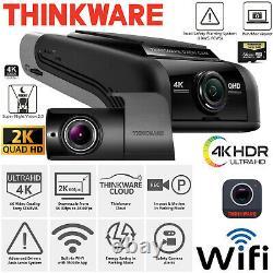 THINKWARE U1000 DASH Camera 4K UHD Front + 2K QHD Rear Cam Recorder 64G WiFi GPS