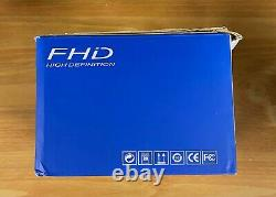 Video Camera Camcorder Night Vision FHD 1080P 30FPS YouTube Vlogging Recorder