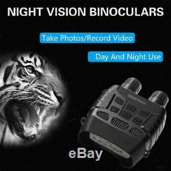 Video Digital IR Night Hunting Binoculars Scope Optics Camera Zoom Recorder
