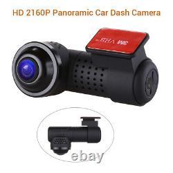 WiFi Car dash Camera Video Recorder 360° App view Night Vision 24H parking mode