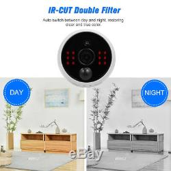 Wireless Security Camera System Wifi CCTV Kit Outdoor Indoor HD IP Recorder 2 CH