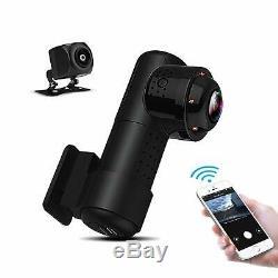 Yakola Y9 WiFi DashCam Dual Mini Car Camera 4K HD 2160P Night Vision Recorder